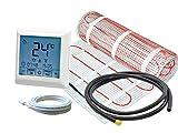 Thermostat RT-40 mit elektrischer Fußbodenheizung SunPro 160 W/m² für Fliesen (1,5 m² - 0,5 x 3...