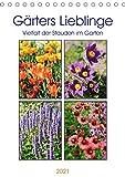Gärtners Lieblinge - Vielfalt der Stauden im Garten (Tischkalender 2021 DIN A5 hoch)