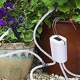 DINOKA DIY Bewässerungssystem, Automatische Urlaubs Bewässerungsanlage Kit mit 8 ft Schlauch für...