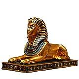 Ägyptische Statue Sphinx Gebäudemodell Sammler Figur Kultur Fürs eigene Haus & Garten Skulptur...