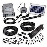 esotec Solar Bewässerungssystem WaterSpray Professional - automatische Bewässerung über bis zu 20...