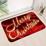 Sunshine smile Weihnachtsteppich,Weihnachten Area Rug,Türmatte Weihnachten,Weihnachtsdekoration...