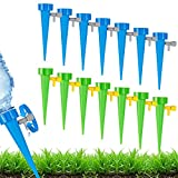 mopalwin Automatisch Bewässerung Set 15 Stück,Pflanzen Bewässerungssystem mit Einstellbar Garten...