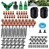DONGQI Bewässerung Kit, Tropfbewässerung 149 Pcs Garten Bewässerungssystem DIY Micro-Drip-System...
