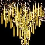 Roytong Meteorschauer Regen Lichter, LED-Eiszapfenlichter mit hoher Helligkeit, wasserdicht und...