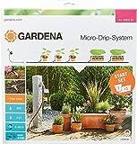 Gardena Start Set Pflanztöpfe M automatic: Das praktische Micro-Drip-System Starterset mit...