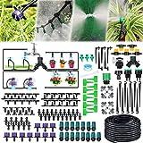 Jeteventy 40M Bewässerungssystem Garten,163Pcs Mikro Drip Bewässerungssets, Automatik...