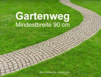 Gartentipp: Gartenweg anlegen