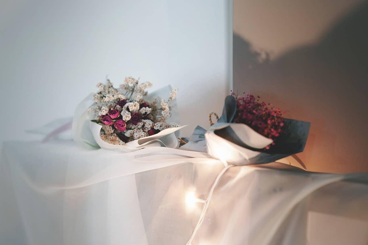 Bett Kopfkissen mit Duft