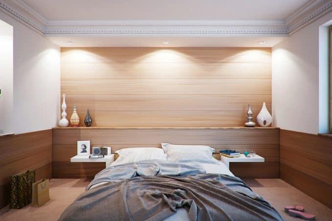 Luftiges Schlafzimmer
