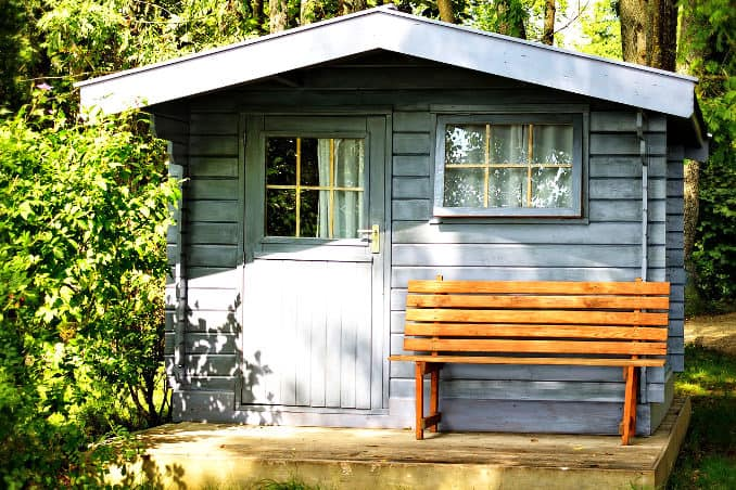 Gartenhaus legal oder illegal