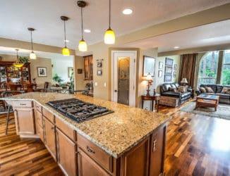 Küche Raumplanung