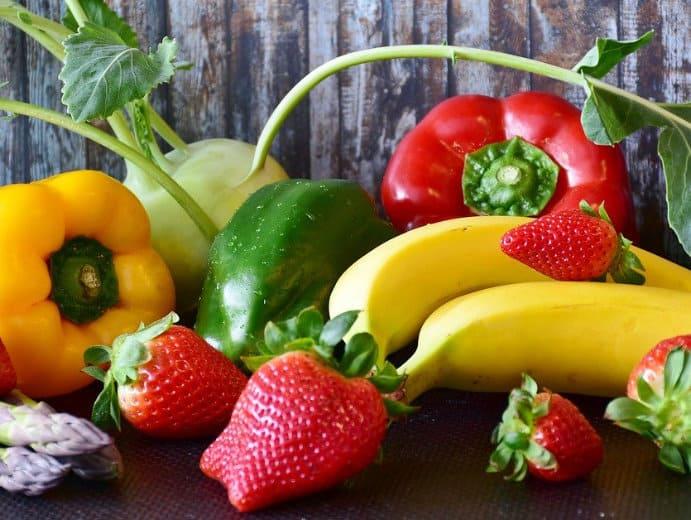 Obst und Gemüse aus dem Garten
