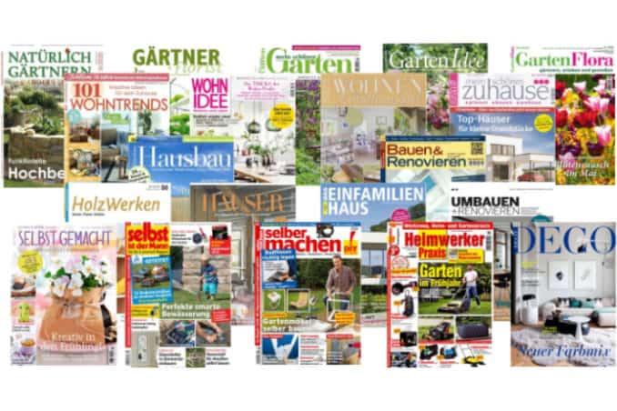 Magazine für Hausbesitzer, Bauherren und Gärtner