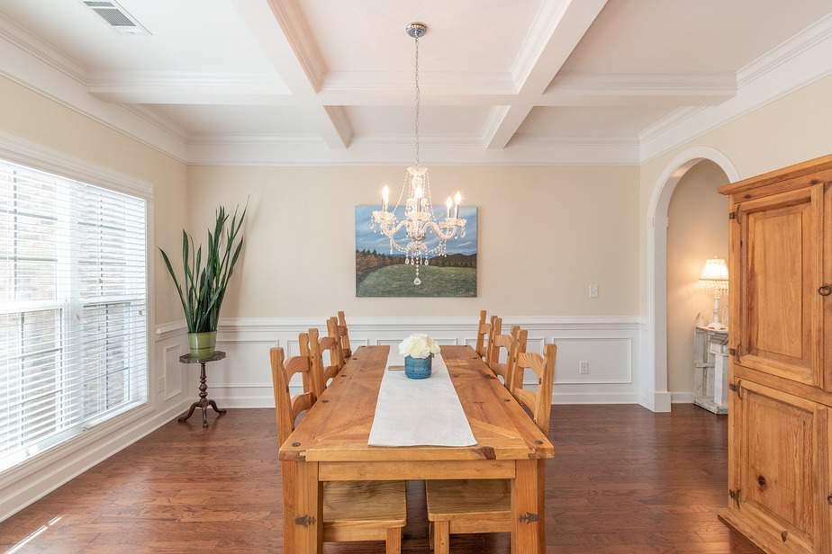Wohnzimeresstisch für 4 Personen